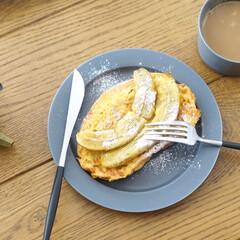 おうちご飯/おうちごはんクラブ/リミアな暮らし/朝ごはんレシピ/朝ごはん/暮らし . たまに食べたくなるフレンチトースト。…