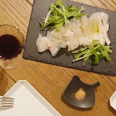 TY スクエア プレート 165 ホワイト 1616 arita japan 有田焼 磁器 柳原照弘 お皿 皿 おしゃれ キャッシュレス還元(皿)を使ったクチコミ「晩ご飯の一品、カルパッチョ いつもはオリ…」