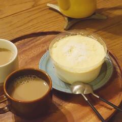 クチポール CUTIPOL コーヒースプーン ティースプーン GOA ゴア GO.11 シルバー×ブラック | クチポール(スプーン)を使ったクチコミ「今週の花金スイーツ  セブンイレブンで期…」