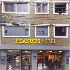 ホテル/北野/神戸/カフェ/ピーナッツカフェ/ピーナッツ/... 神戸北野にできた「PEANUTS HOT…