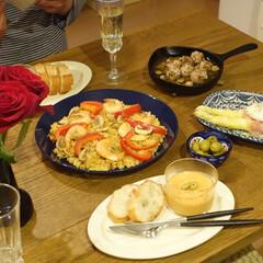 アウトレット ホルムガード フローラ ベース 12cm ロング ブルー Holmegaard Flora vase(花瓶、花器)を使ったクチコミ「こどもの日は結婚記念日でもあります。  …」