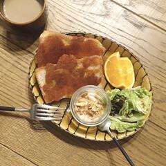 リミアな暮らし/うつわ日和/トーストアレンジ/朝ごはん/キッチン雑貨/暮らし 焼きチーズトーストで朝ごはん。 チーズを…