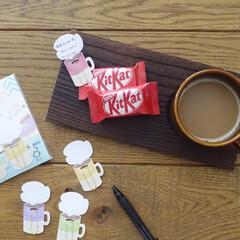 文房具/ステーショナリー/DAISO/ダイソー/雑貨/暮らし/... ダイソーでみつけた、マグカップ型のメモク…