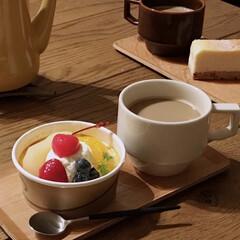 ゴア ブラック コーヒー/ティー スプーン GO11 | クチポール(その他キッチンツール)を使ったクチコミ「食後のお土産デザートタイム 今さらだけど…」