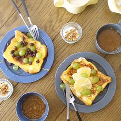 WECK ウェック Mold Shape モールドシェイプ 80ml WE-080 | ウェック(食品保存容器)を使ったクチコミ「フルーツもりもりフレンチトーストで朝ごは…」