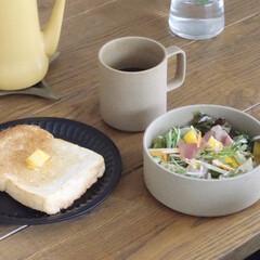食器 ハサミポーセリン 波佐見焼 ボウル Mサイズ HASAMI PORCELAIN 即日出荷可能 | HASAMI(皿)を使ったクチコミ「今朝も野菜もりもりサラダ。 深さがあるこ…」