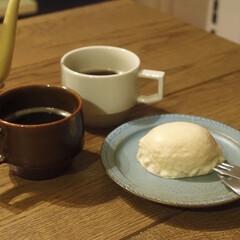 柳宗理 デザートフォーク | 柳宗理(フォーク)を使ったクチコミ「今晩のコーヒータイム。  旦那さんが買っ…」