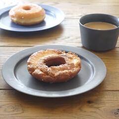 コーヒー/リミアな暮らし/ドーナツ/朝ごはん/おうちごはん/おしゃれ 今朝は予定あってバタバタ、無性に食べたく…