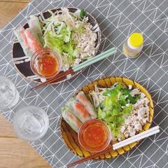 うつわ日和/リミアな暮らし/お家ごはん/ベトナム風生春巻き/ベトナム料理/キッチン雑貨/... 蒸し暑さを吹き飛ばすピリ辛メニュー。 生…