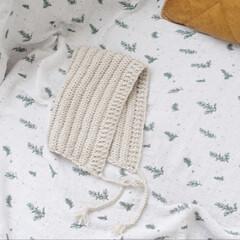 ピクシーハット/ボンネット/手編み帽子/手編み/毛糸の帽子/毛糸/... 母が編んでくれた毛糸の帽子が届きました。…(2枚目)