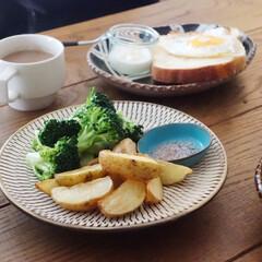 うつわ日和/フライドポテト/春野菜/朝ごはん/リミアな暮らし/キッチン雑貨/... 新じゃがのフライに。 もちろん皮ごと! …
