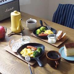 モーニング/朝食/朝ごはん/おうちごはんクラブ/グルメ/フード/... スキレットモーニング