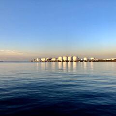 暮らし 千葉市新港⚓️⚓️⚓️👍☀️ 穏やかな朝🤗