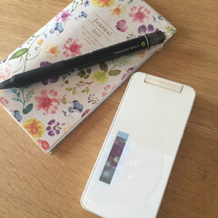 家計/ガラケー安い/お気に入り/スマホ高い/やめられない/ガラケー携帯 私の可愛いガラケーちゃん。 使い始めて早…