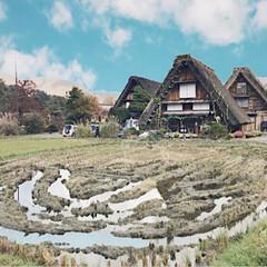旅のおみやげ/岐阜/白川郷/タビジェニ/景色/旅行/...  世界遺産の白川郷です! 岐阜県にありま…