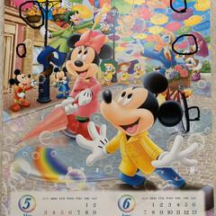 隠れミッキーカレンダー答え合わせ 隠れミッキーカレンダー答え合わせ💕 全部…