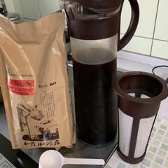 水出し/紅茶ポリフェノール/水出し和紅茶/水出しコーヒーセット/水出しコーヒー 水出しコーヒー💕 旦那が知り合いにすすめ…(1枚目)