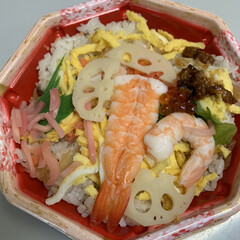 ばら寿司/ひな祭り ばら寿司💕 今日はお雛祭👍気分だけでもと…
