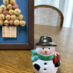 ダイソー/クリスマス雑貨/クリスマス雪だるまちゃんライト/100均 クリスマス雪だるまちゃんライト💕 ダイソ…