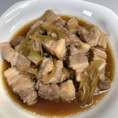 世界一美味しい手抜きごはん/レンジで豚バラ角煮 レンジで豚バラ角煮💕 世界一美味しい手抜…