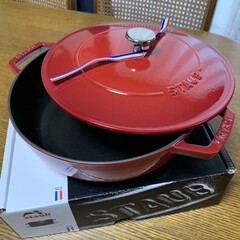赤い鍋/ストウブ鍋 ストウブ鍋💕 いただいてたカタログギフト…