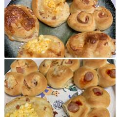 自家製ナン/台風で引きこもり/自家製惣菜パン/令和の一枚 自家製惣菜パン💕 台風で家に引きこもりで…
