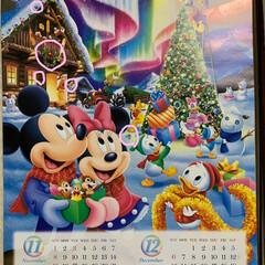 隠れミッキーカレンダー答え合わせ 隠れミッキーカレンダー答え合わせ💕 分か…