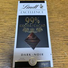99%カカオ/高カカオチョコレート 高カカオチョコレート💕 次男にもらったチ…