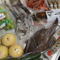 市場/からいち/日本海/お出かけ/宝石丼/海鮮丼/... 海鮮丼&宝石丼💕 今日は祝日で、朝から少…(2枚目)
