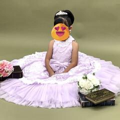 ドレス/5歳バースデー/記念撮影/レモン/サクレ/パピコ/... おはようございます😃  ミッキーのおっぴ…(5枚目)