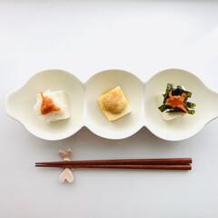 簡単レシピ/韓国のり/冷奴/チャンジャ/おうちごはん/業務スーパー/... 業務スーパーのチャンジャと葱生姜をのせた…