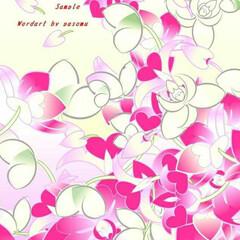 ラン/花/暖か/癒し/春/ダンス/... タイトル、ランのダンス🎵1日1日、春らし…