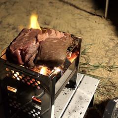 料理動画/YouTube/BBQ/キャンプ飯 久しぶりのキャンプ。肉の塊焼いてみた。 …