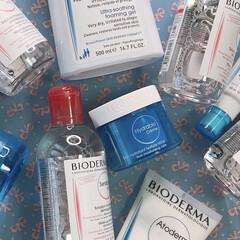 ビオデルマ イドラビオ モイスチャライジングローション  / ビオデルマ(化粧水)を使ったクチコミ「ビオデルマのスキンケアかなり良かったので…」