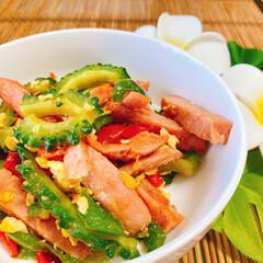 沖縄料理/ゴーヤチャンプルー/cookpadにレシピ掲載中/沖縄/おうちごはん/簡単 ゴーヤチャンプルーのレシピcookpad…