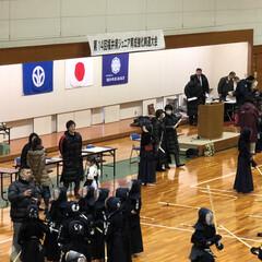 「福井県ジュニア育成強化剣道大会。 学年が…」(1枚目)