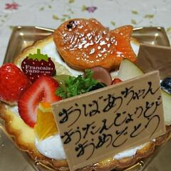 甘党大集合/おばあちゃんお誕生日/めでたい おばあちゃんお誕生日おめでとう!! 甘い…