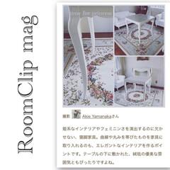 猫脚/クラシック家具/ダイニングテーブル/ロココ/ネオクラシック/シャビーシック/... ❤︎ ・ RoomClip mag ・ …(1枚目)