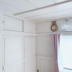シャビーシック/襖リメイク/リミアな暮らし/DIY/住まい/リフォーム/... 🛠 ・ #和室から洋室 へ12回 #襖リ…