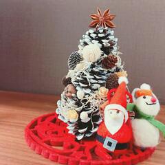 丁寧に暮らす/北欧/まつぼっくり/クリスマス お気に入りの松ぼっくりのツリー
