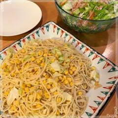 夜ごはん 最近の夕飯 昨日はサラダの野菜が足りずコ…(2枚目)