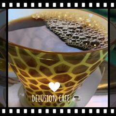 コーヒー/妄想カフェ コーヒーで始まりコーヒーで一息の 寒い朝