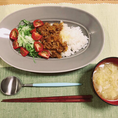 タコライス/料理/器/イイホシユミコ 簡単おいしいヘビロテタコライス。材料はミ…(1枚目)