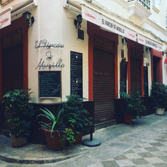 外装/海外インテリア/海外生活/海外/デコレーション/レストラン/... 開業前のレストラン。  こういう感じのお…