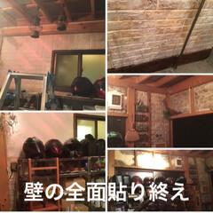 DIY/ハンドメイド/住まい/リフォーム/暮らし/LIMIA手作りし隊 家の外にバイク小屋を増築。 家の外壁がむ…(3枚目)