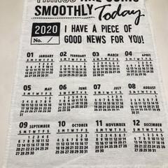 節約主婦/昨年カレンダー/手づくり/百均/暮らし/住まい おはようございます☀ 昨年の布カレンダー…(3枚目)