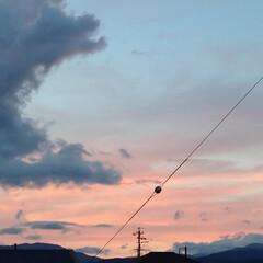 きれいね~/夕焼け/梅雨明け/暑い 一枚目は、昨日の久し振りの夕焼け。 二枚…(1枚目)