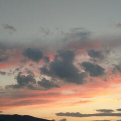 風景/雲/空/夕焼け/暮らし/フォロー大歓迎/... 夕焼けがキレイだったから☺️💕
