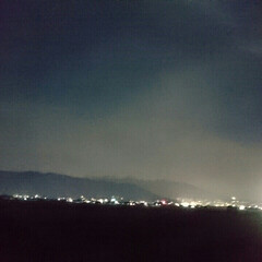 夜景/夜空/散歩/月/LIMIAペット同好会/フォロー大歓迎/... 夜の散歩も良いのですがやっぱり寒いのです!