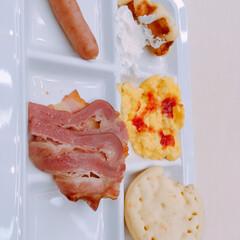 ホテルグルメ/美味しい❣/眠い/朝早く/朝食 今日の朝食❣美味しい❣(1枚目)